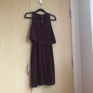 Theory Dresses - Burgundy silk Theory Dress